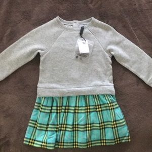 Burberry kids sweater dress